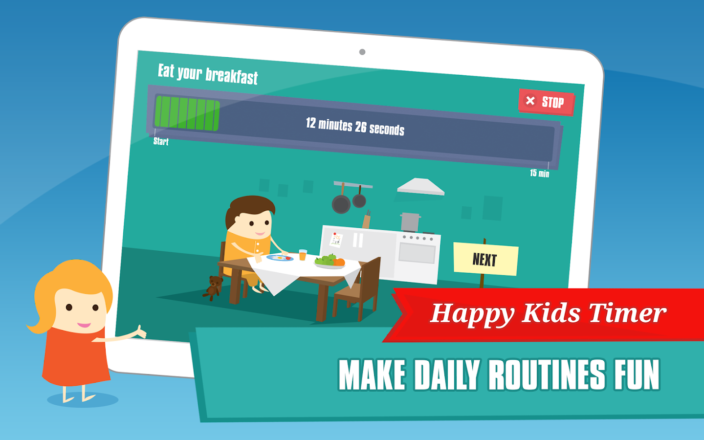 Happy Kids Timer - Morning- screenshot