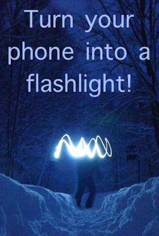 明るい懐中電灯のLED +ストロボ