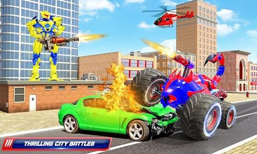 Scorpion Robot Monster Truck Transform Robot Games 1
