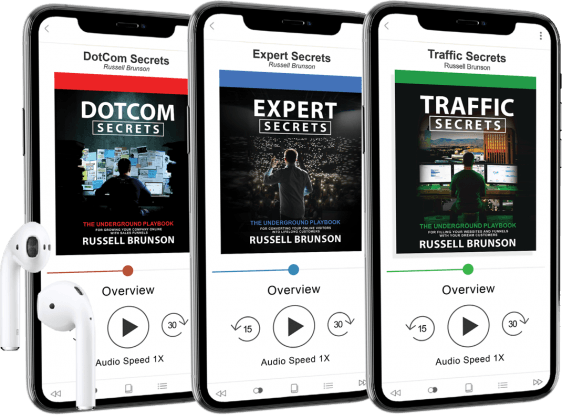 Secrets Trilogy Audiobooks