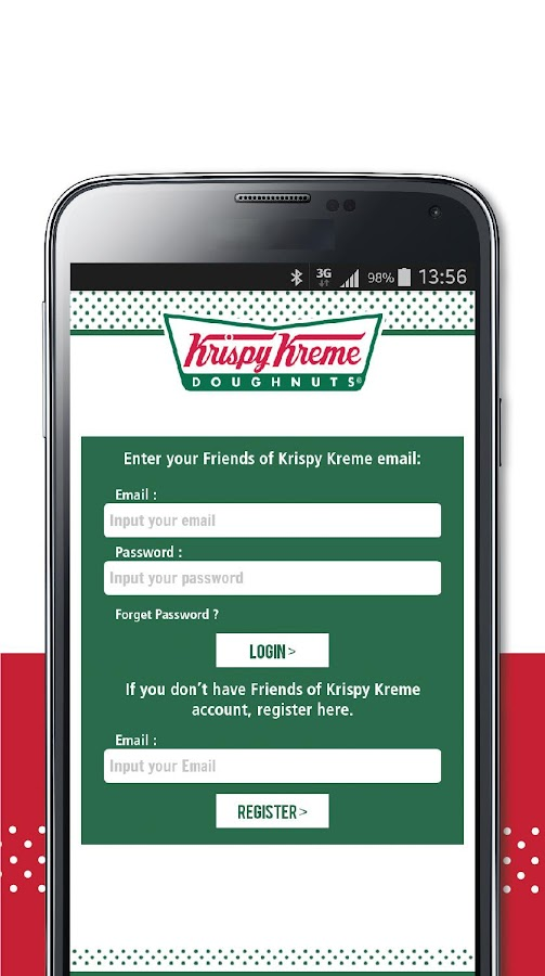 Krispy Kreme Indonesia- screenshot