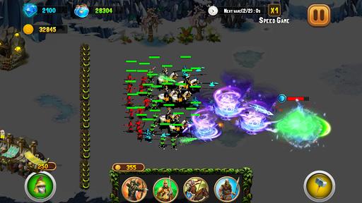 StickMan Defense War - Empire Hero & Tower Defense android2mod screenshots 6