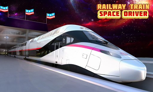 Bullet Train Space Driving screenshots 12