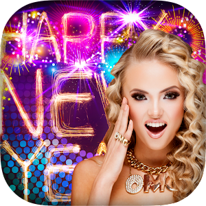 New Year Photo Frames 2016 Icon