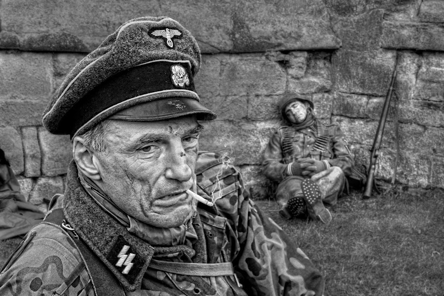 A Brief Respite by Jon Sellers - People Portraits of Men