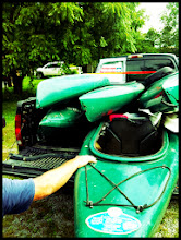 Photo: Time to hit the river