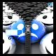 3D Smileys Zipper
