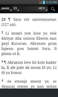 Bible HCV, Haitian Creole Version (Haitian Creole) - náhled