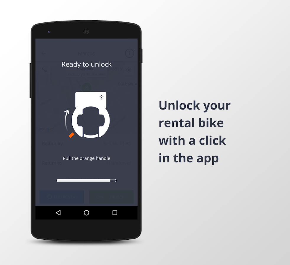 Donkey Republic - Rent a bike: screenshot