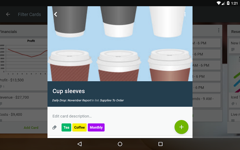 Screenshot 17 for Trello's Android app'