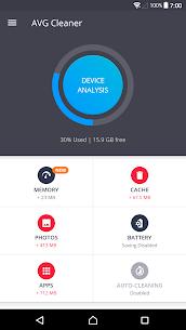 AVG Cleaner – Speed, Battery & Memory Booster 1