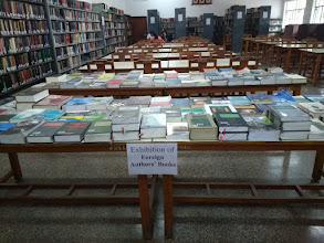 Photo: Exhibition of Foreign Authors' Books