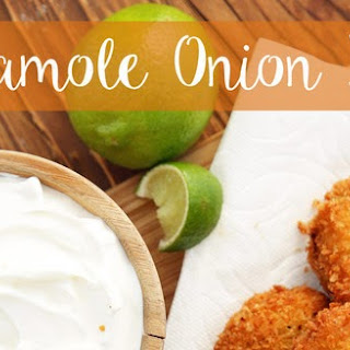 Guacamole Onion Rings #Recipes