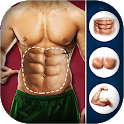 Man Fit Body Editor - Six Pack Abs Body Style icon