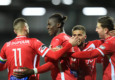 Frank Boya, attaquant surprise de l'Excel Mouscron