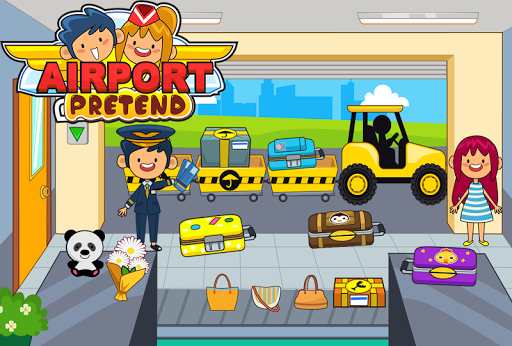 My Pretend Airport - Kids Travel Town Games  {cheat|hack|gameplay|apk mod|resources generator} 4