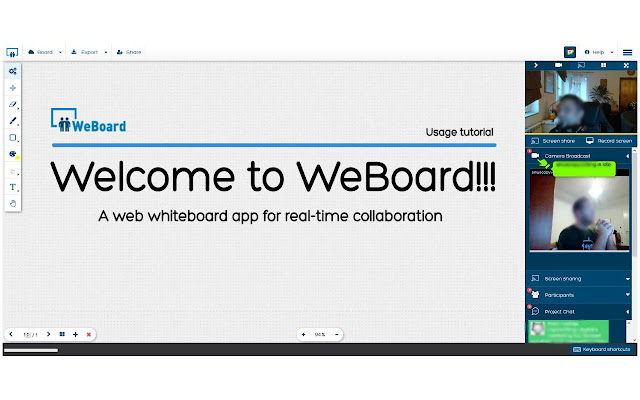 WebBoard Screenshare