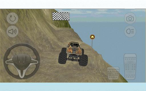 無料赛车游戏Appのモンスターカーヒルクライム|記事Game