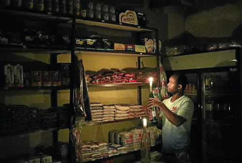 Load-shedding gambling with lives