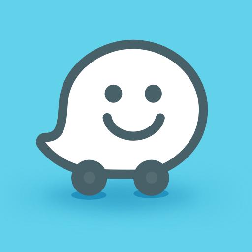 Waze - GPS, Cartes, Trafic & Navigation temps réel Icon