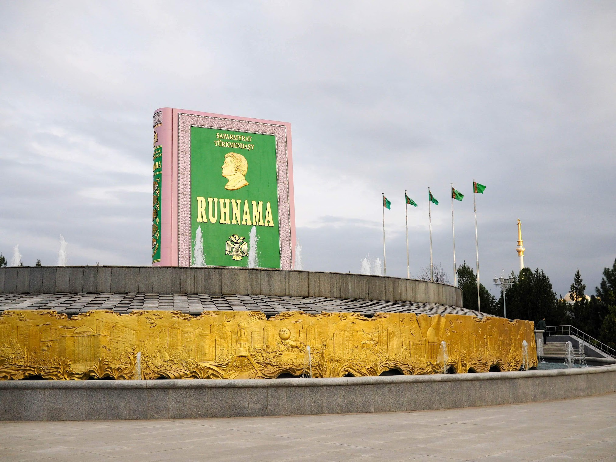Ruhnama, one of the weird Turkmenistan facts