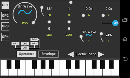 SonaFM Music Synthesizer screenshot 0