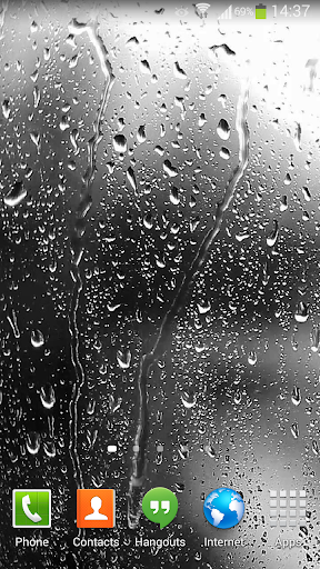 Raindrops Live Wallpaper HD 8 3.0 screenshots 2