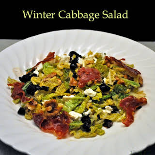 Winter Cabbage Salad.