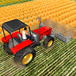 Forage Plow Farming Harvester Icon