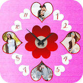 Clock Photo Collage Maker