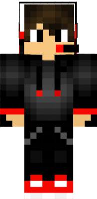This is the edited version of my skin, I hope you enjoy it so you can look more cool Minecraft. Use this because you look Like a child with Default skin.
