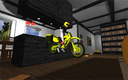 Office bike driving 3d