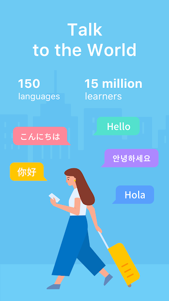 HelloTalk — Chat, Speak & Learn Foreign Languages Android App Screenshot