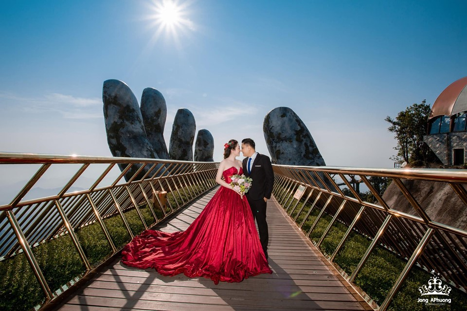 Chụp ảnh cưới ở đà nẵng