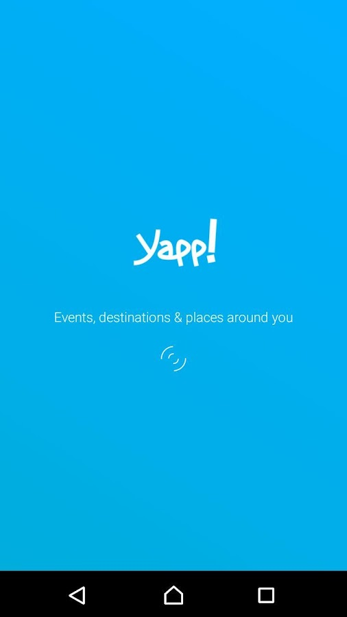 Yapp! Experience- screenshot