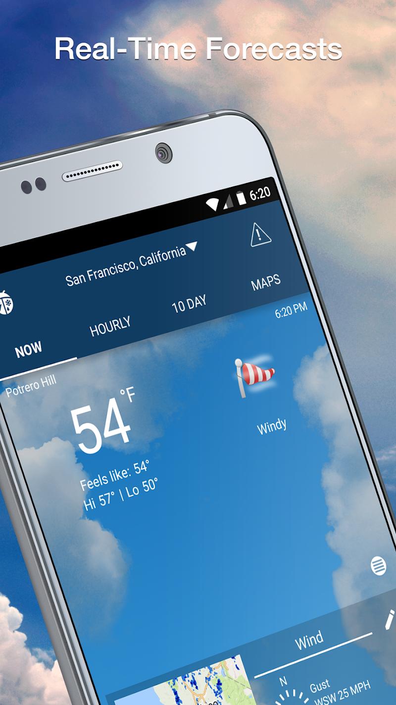Weather Elite by WeatherBug Screenshot 1