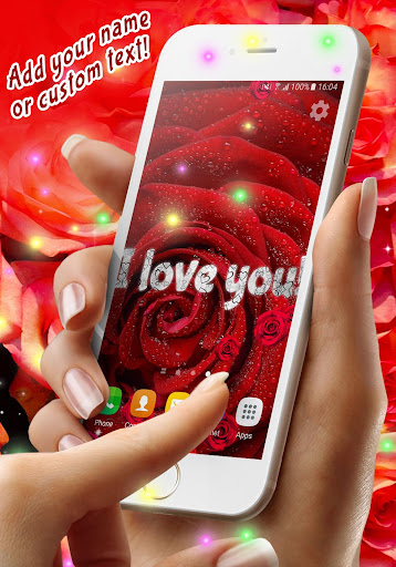 Red Rose Live Wallpaper  screenshots 2