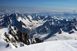 Photo: Al fondo del valle Chamonix. Foto Ch