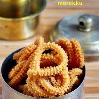 Pottukadalai murukku recipe | Easy snack recipes.