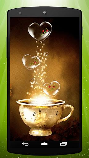 Magic Teacup Live Wallpaper