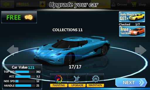 City Racing Lite screenshot 6