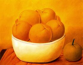 "Photo: ""Fruites"" Fernando Botero"