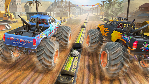 Xtreme Destruction Monster Truck Stunts  screenshots 4