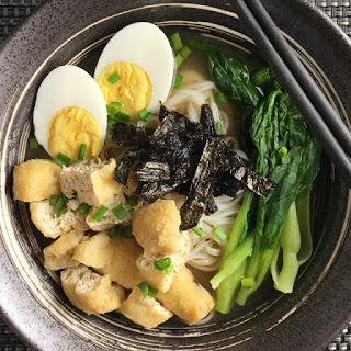 Slurping-Good Miso Noodle Soup.