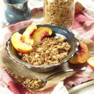 Sesame Crunch Quinoa Granola.