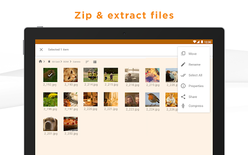 Astro File Manager (File Explorer)- screenshot thumbnail