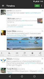 Plume for Twitter screenshot 01