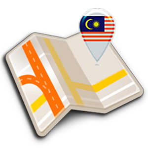 Map of Malaysia offline 1.4 by Map Apps logo
