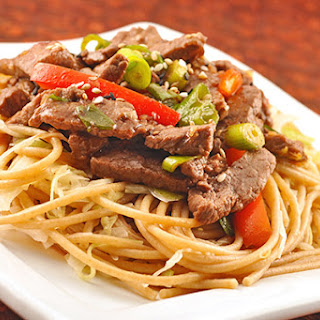Easy Beef Stir Fry with Noodles