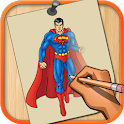 How to Draw Superheroes 2020 Step by Step icon
